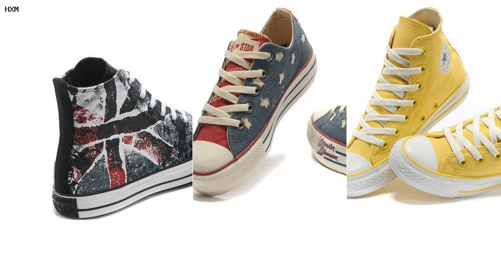 converse nylon trainer remix