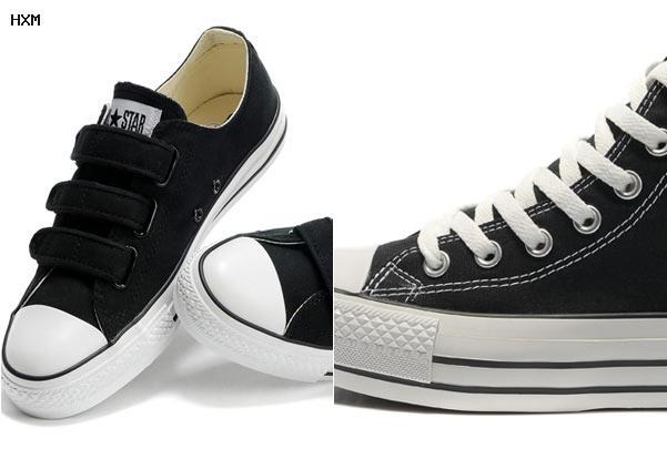 zapatillas imitacion converse plataforma